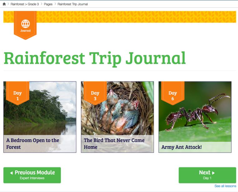 Trip Journal